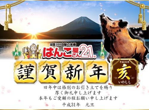 2-額謹賀新年 2019(中)